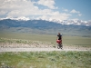 Aiden Harding heads out of Silver City, and into the Great Divide Basin in Wyoming.