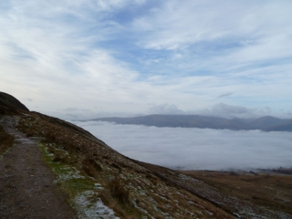 From Conic Hill down to Loch Lomond